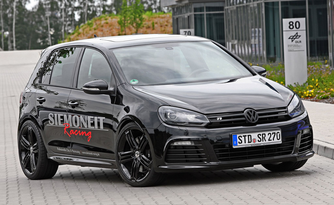 Volkswagen Golf R Black Pearl от Siemoneit Racing