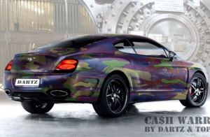 cash camo bentley