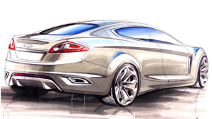 Ford Iosis sketch