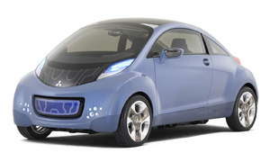 Mitsubishi Imiev sports air concept
