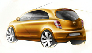 Nissan Micra Sketches