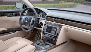 2011 vw phaeton interior