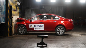 buick new regal crash test