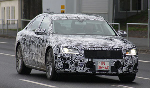 Audi A8 2011 camouflage