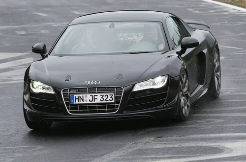 Audi R8 V10 Club Sport first spy photo