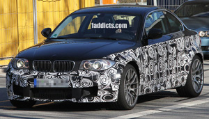 bmw m1 135is test mule
