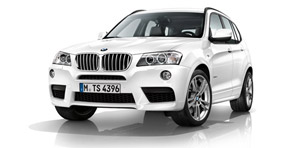 2011 bmw x3 m sport package