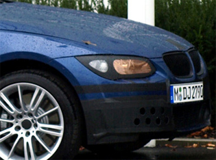 Bmw 3 Coupe spy
