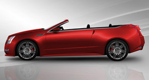 cadillac cts convertible drop top