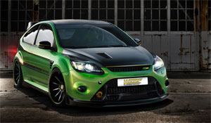 weitec ford focus rs tuning