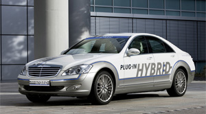 Mercedes-benz S500 2010 plug-in hybrid