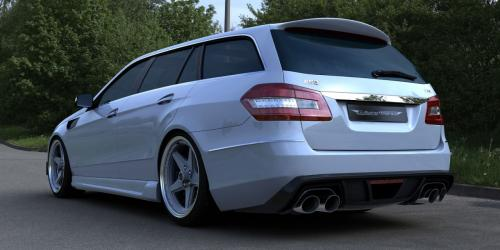 2011 Mercedes E63 AMG Wagon by GWA-Tuning