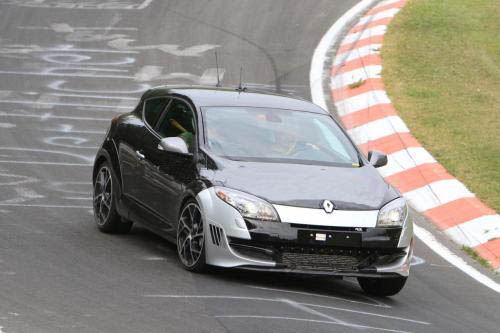 Renault Megane RS special edition spy photos