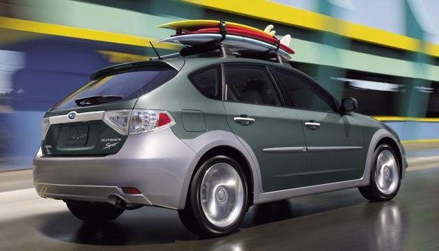 Subaru представит в женеве кроссовер impreza