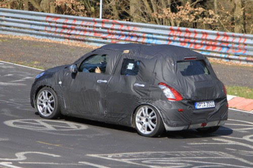 2011 Suzuki Swift prototypes