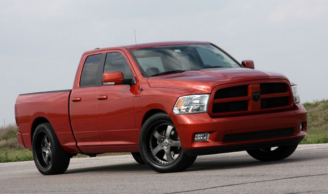 Dodge Supercharges  Ram 1500 от Hennessey