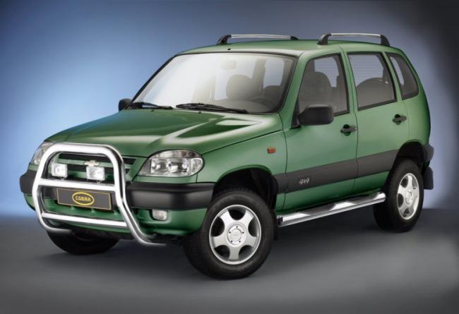 Внедорожник Chevrolet Niva российского производства снова подорожал