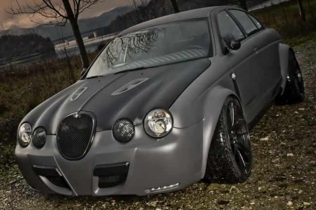 Jaguar S-Type R от Panzani Design
