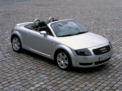 Auti TT Roadster - одна из нескольких моделей Audi с коробкой DSG