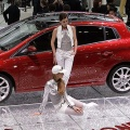 The new Fiat Bravo is seen during it first World presentation at the media day of the 77th Geneva Motor Show