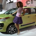 A Citroen Picasso is presented at the Paris Motor Show