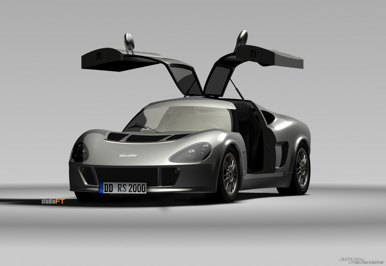 с моделью RS1000, машине,