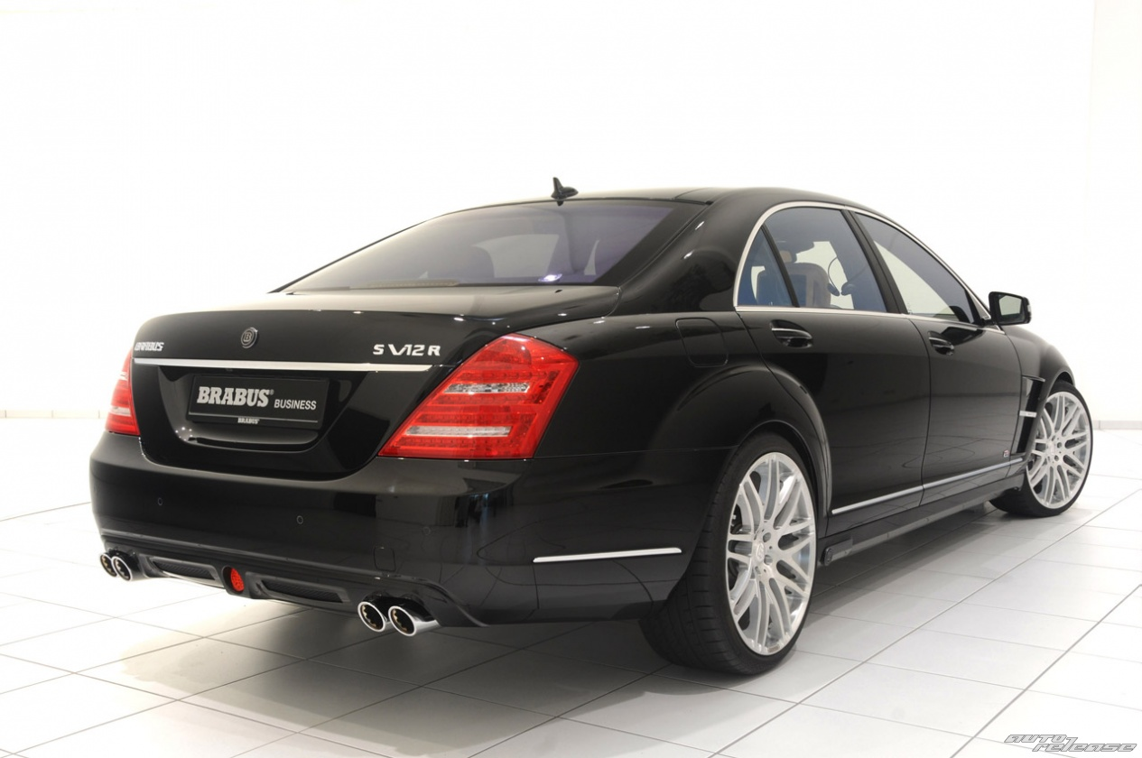 Brabus ibusiness mercedes benz s600 2010 for Mercedes benz s600 amg 2010