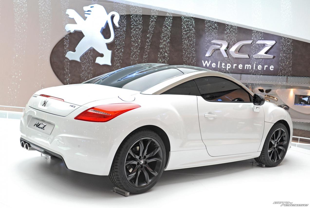 станет купе Peugeot RCZ,