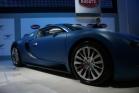 bugatti veyron bleu centenaire front weel