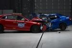 camry yaris front crash
