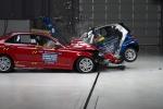 mercedes smart front crash