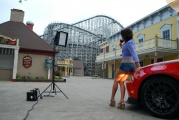 Kristin Zippel poses for the MISS TUNING-Calendar 2011