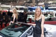 Девушки на Женевском автосалоне 2010 года