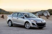 Вид спереди Mazda 3 2010