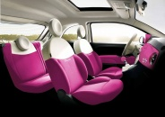 "Салон Fiat 500 ""Барби"""