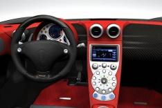 Koenigsegg Quant внутри