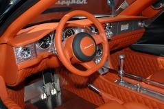 Spyker C8 Aileron interior