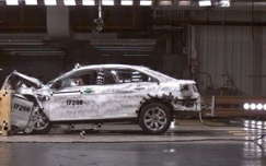 2010 Ford Taurus Crash Test