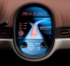 Mitsubishi CX concept control panel