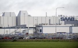 Saab Trollhatten plant