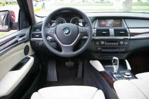 BMW X6 место водителя