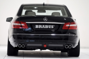 Выхлопная система mercedes e class от brabus
