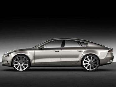 Audi A7 Sportback cбоку