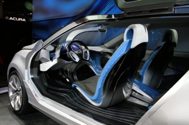 Hyundai Nivus concept interior