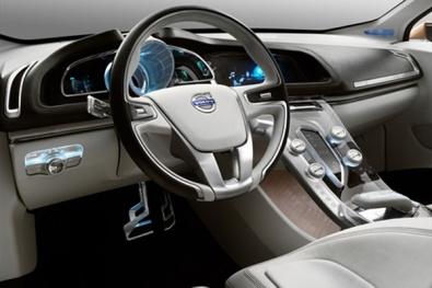 Водительское место Volvo S60