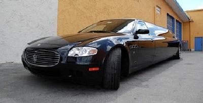 Maserati quattroporte limo