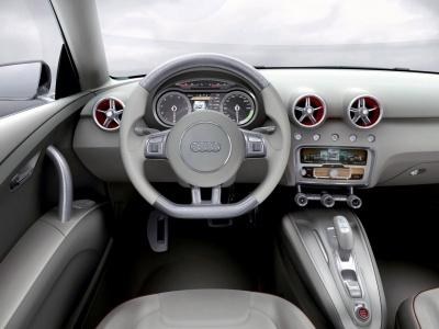 Audi A1 Sportback concept interior