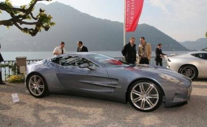 Aston Martin one a villa deste