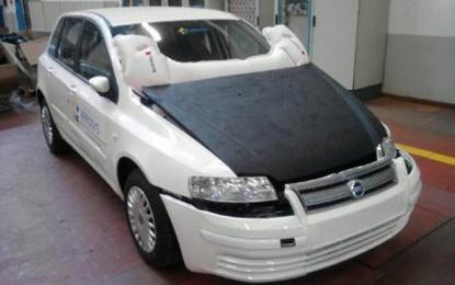 Hood airbag