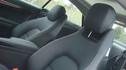 Mercedes E-Class Coupe передние сидения